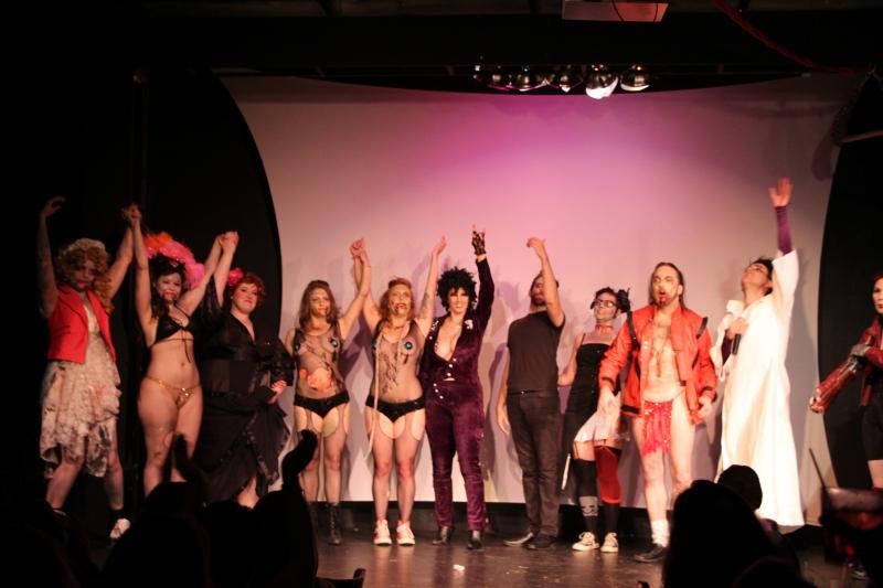 The cast of Burlesque Battle Royale
